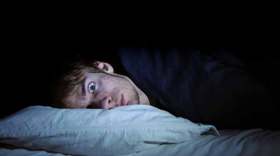 non dormire bene