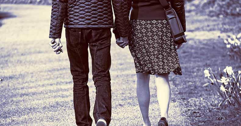 Coppia si diventa solo camminando insieme giorno per giorno